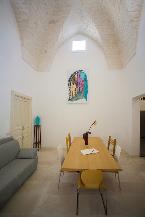Sala da Pranzo di MGSO architetti Moderno