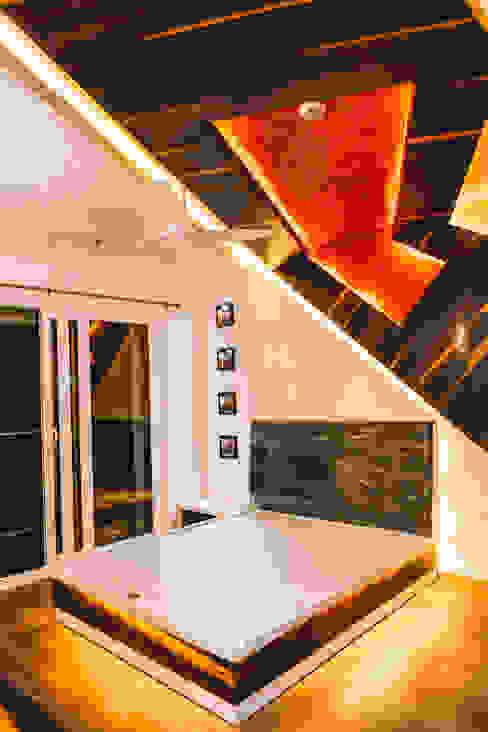 Origami Space Design Camera da letto moderna