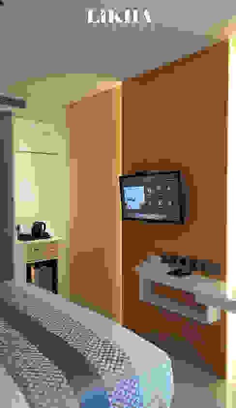 Kabinet TV Hotel Modern Oleh Likha Interior Modern Kayu Lapis