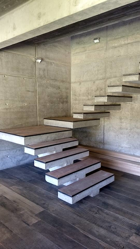 Stairs by homify, Modern Reinforced concrete