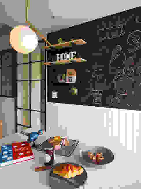 Cuisine de style  par 一葉藍朵設計家飾所 A Lentil Design , Scandinave