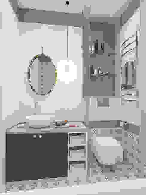 Неоклассика с элементами прованса : Ванные комнаты в . Автор – design4y,