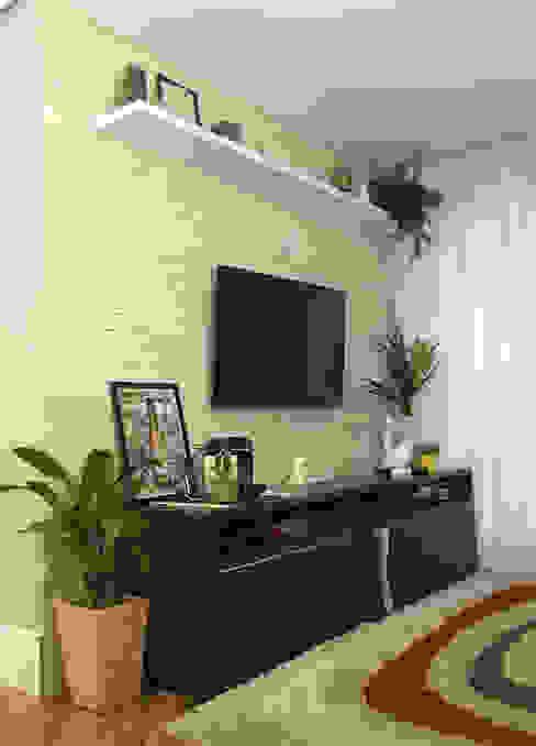 Sala de Estar Studio Side Arquitetura e Interiores Salas de estar modernas
