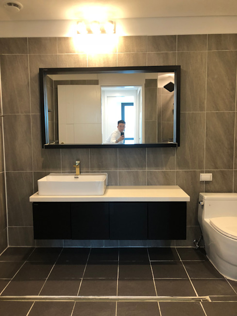 여의도 리첸시아 모던스타일 욕실 by 아임커뮤니케이션즈 모던