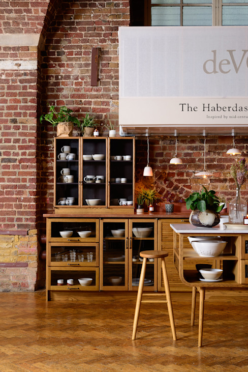 deVOL Kitchens Klassieke keukens Massief hout Bruin