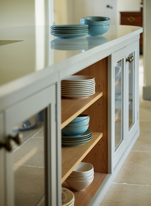 Restored Farmhouse:  Kitchen units by Teddy Edwards ,