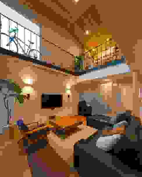 一級建築士事務所 アトリエ カムイ Modern living room