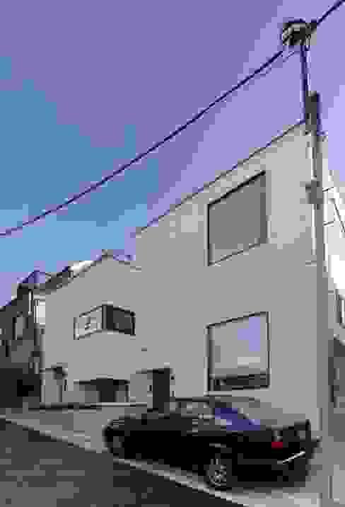 外観 ミニマルな 家 の 石川淳建築設計事務所 ミニマル