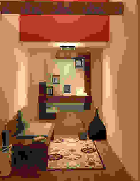 Perfil Arquitectónico Modern Corridor, Hallway and Staircase
