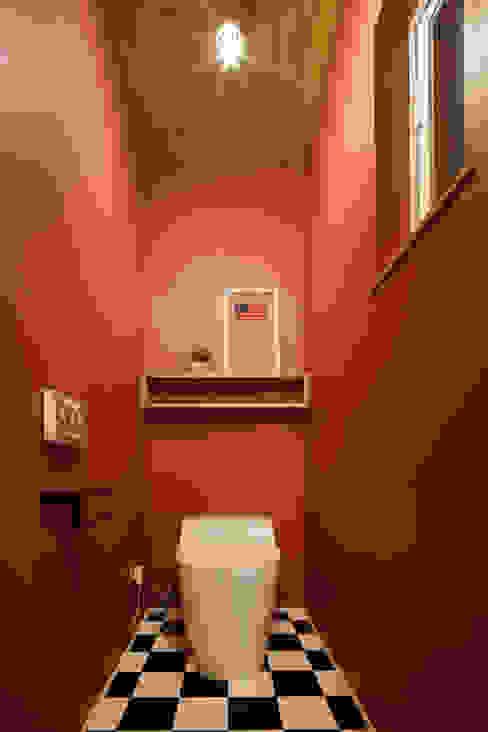 house-17 dwarf インダストリアルスタイルの お風呂