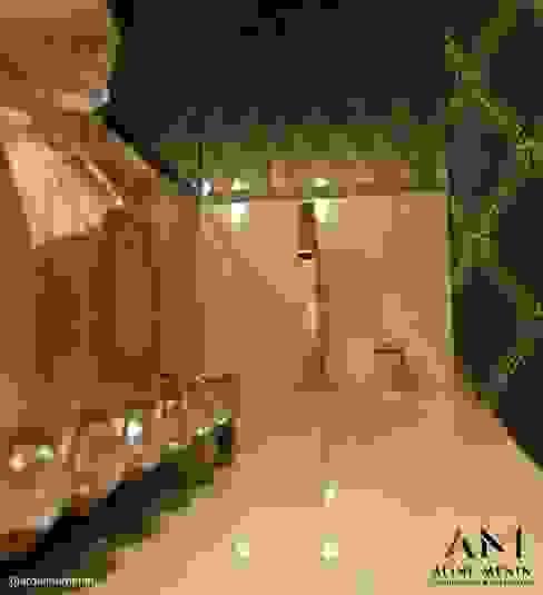 Aline Menin Arquitetura 浴室