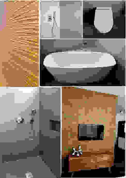 luanna design Modern Walls and Floors Concrete Grey