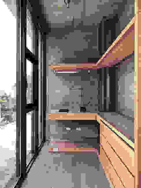 Phòng thay đồ phong cách hiện đại bởi 形構設計 Morpho-Design Hiện đại