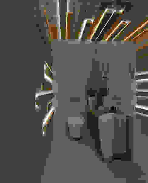 Angelourenzzo - Interior Design Baños de estilo escandinavo