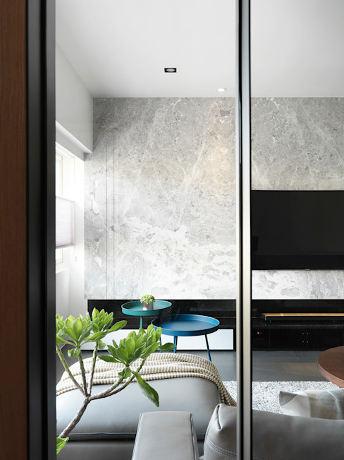 御見設計企業有限公司 Modern walls & floors Marble