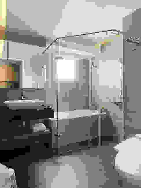 幸福鹿特丹 現代浴室設計點子、靈感&圖片 根據 御見設計企業有限公司 現代風