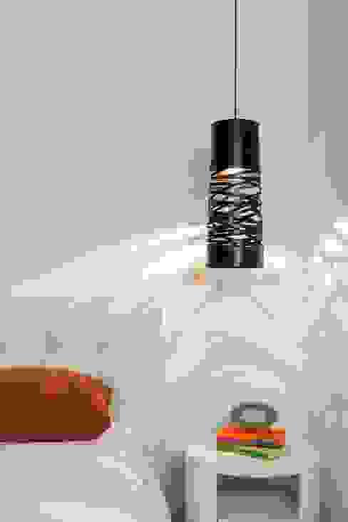 nuove lofts Daniel Cota Arquitectura | Despacho de arquitectos | Cancún Dormitorios modernos Ladrillos Blanco