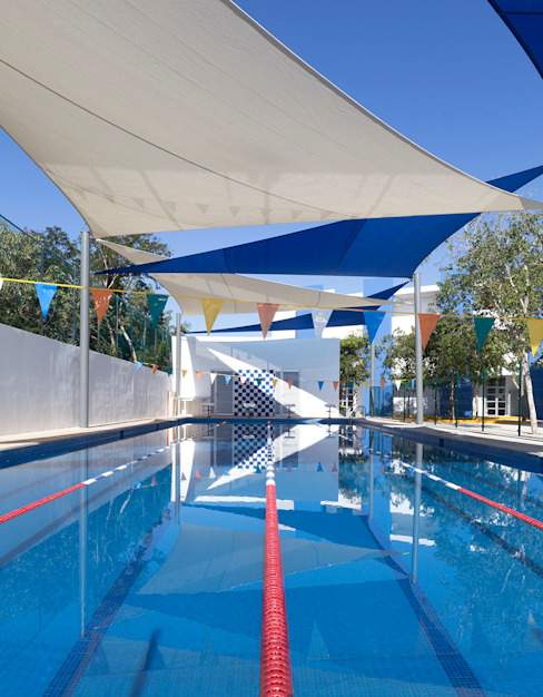 de Daniel Cota Arquitectura | Despacho de arquitectos | Cancún Moderno Azulejos
