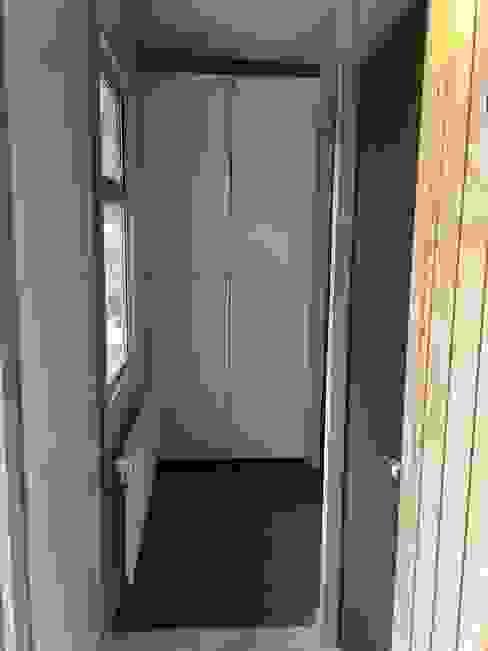 Modulos Prefabricados Staff Hotel Awasi Patagonia Dormitorios de estilo industrial de m2 estudio arquitectos - Santiago Industrial