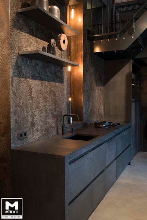 Showroom Molitli Molitli Interieurmakers Industriële keukens