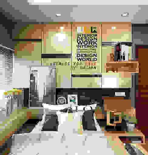 bedroom: ทันสมัย  โดย walkinterior , โมเดิร์น