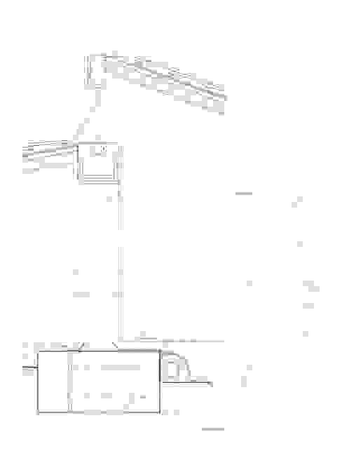 Planos de proyecto - detalle de fachada Casas de estilo rural de Francisco Pomares Arquitecto / Architect Rural
