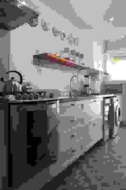 Cozinha Arquitetura Ideal Cozinhas embutidas MDF Cinza