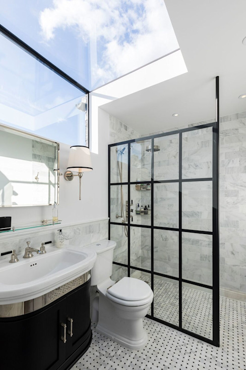 Ensuite Bathroom من Resi Architects in London حداثي