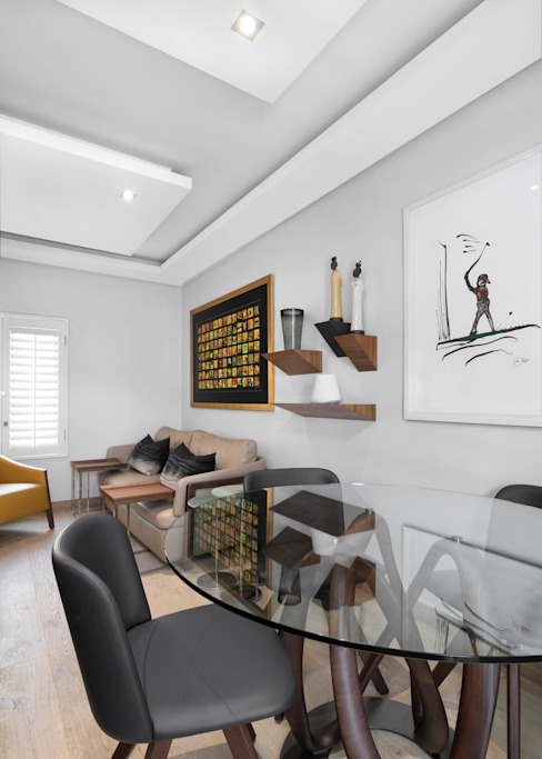 Home Study by Deborah Garth Interior Design International (Pty)Ltd Modern Solid Wood Multicolored