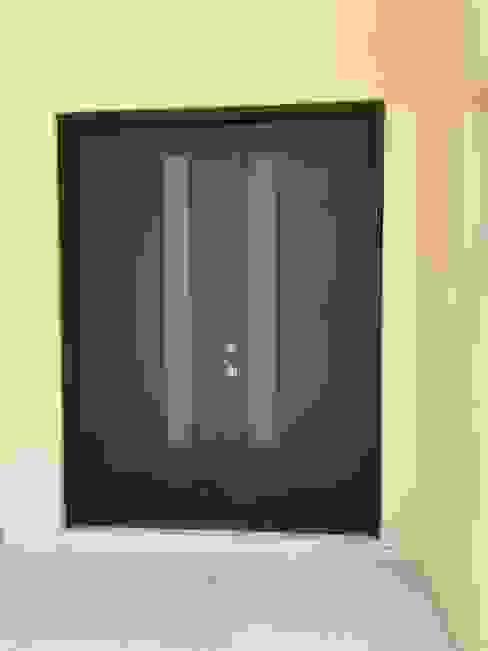 Puerta Aw herreria Puertas principales Hierro/Acero Negro