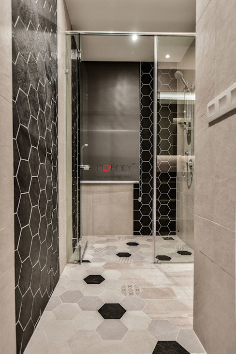 LUXURIOUS HOME inDfinity Design (M) SDN BHD Modern style bathrooms