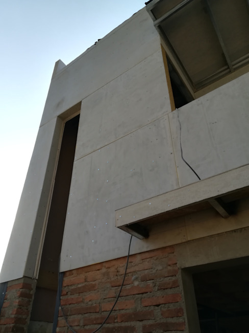 Fachada MSGARQ Casas unifamiliares