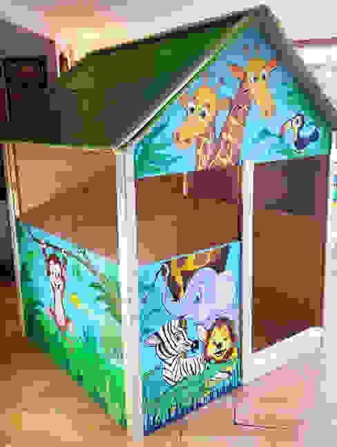 Casetta per bambini BIMBI con decoro personalizzato ONLYWOOD GiardinoAltalene & Aree Giochi Legno