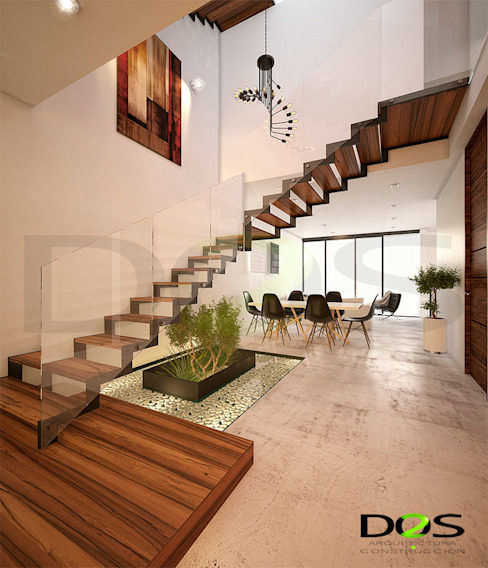 Arquitectos en Valle Imperial, Guadalajara, El Palomar DOS Arquitectura y construcción Escaleras