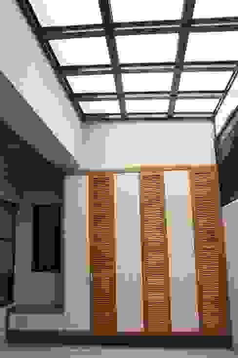 houseda Double Garage MDF Wood effect