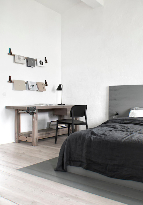 INT2architecture Industrial style bedroom