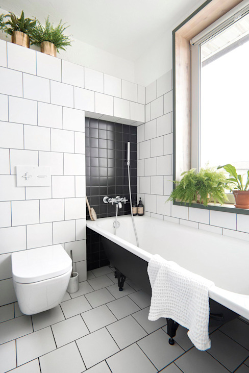Интерьер KAS Ванная в стиле лофт от INT2architecture Лофт