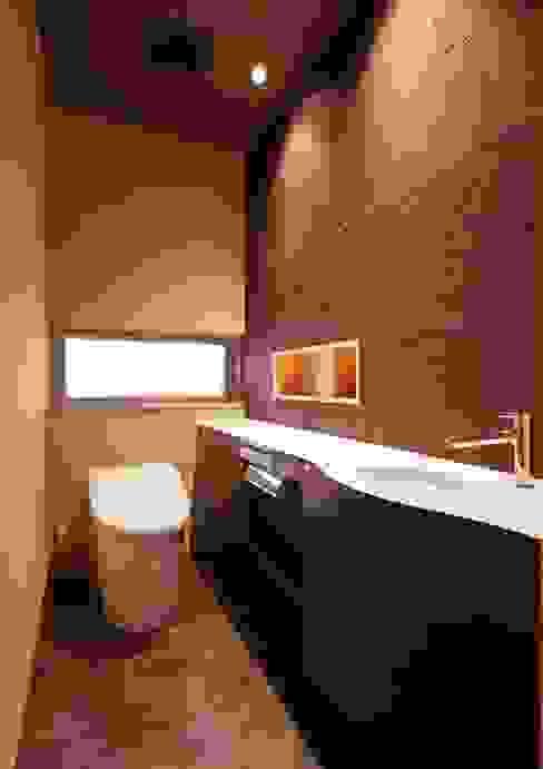 長浜市O邸 空間工房 用舎行蔵 一級建築士事務所 和風の お風呂