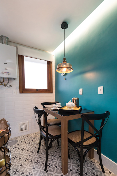 Espaço do Café e Lanches Rápidos por Rabisco Arquitetura Moderno