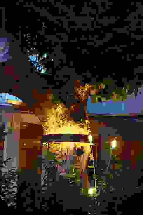 Terrasse des Ristorante Bella Vista Bad Kreuznach Moderne Gastronomie von Lichtlandschaften Modern