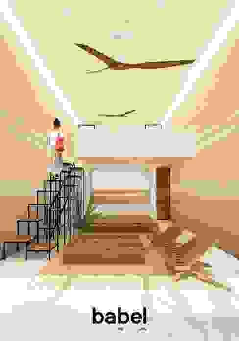 BABEL MX babel arquitectos mx Casas modernas