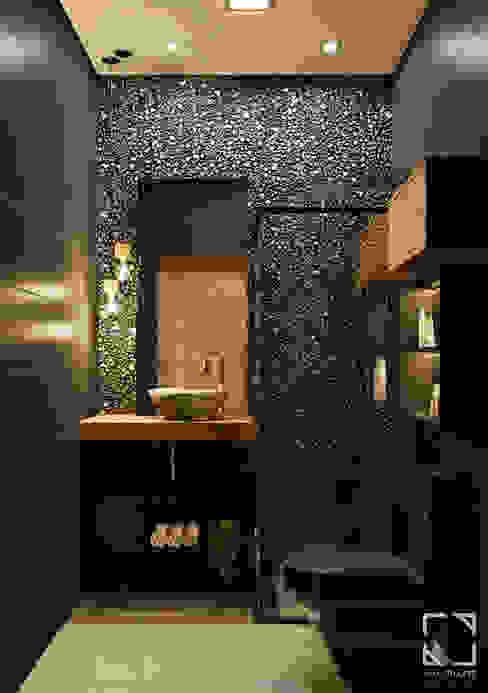 Ванные комнаты в . Автор – Rau Duarte Arquitetura,