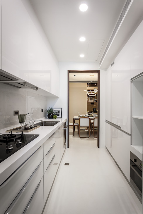 Interior Design - Ko Residence 王子華設計工作室 客廳餐具櫃