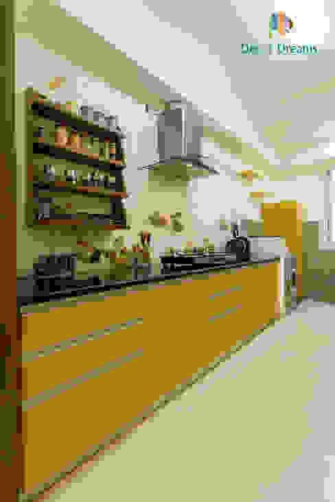 Axis Aspire 2.5 BHK - Mr. Ramprasad:  Kitchen by DECOR DREAMS,