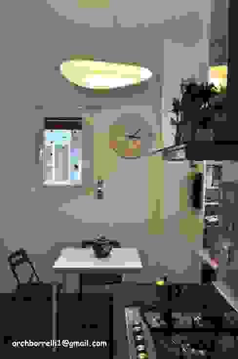 Cucina abitabile COSTRUZIONI ROMA SRL Cucina attrezzata