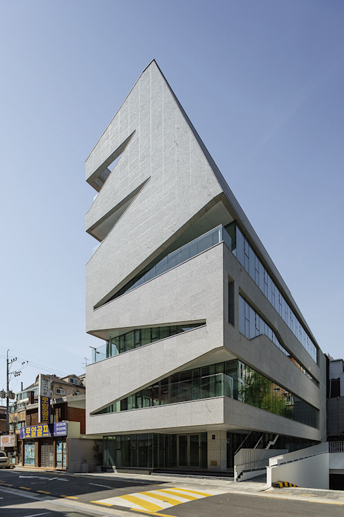 D Office by 건축사사무소 어코드 URCODE ARCHITECTURE 모던