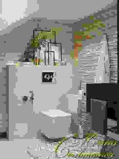 Modern bathroom by Компания архитекторов Латышевых 'Мечты сбываются' Modern