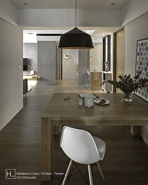 Dining room by SECONDstudio,