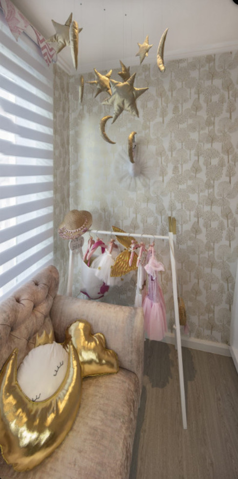 Children's Bedrooms by Spegash Interiors Eclectic