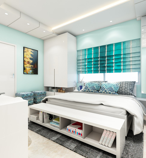 MARVEL ENIGMA Modern style bedroom by Spaces Alive Modern